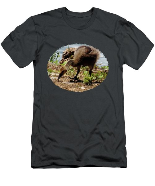 Little Gosling  Men's T-Shirt (Athletic Fit)