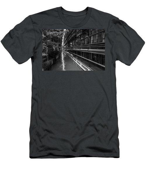 Little River, Big Building Men's T-Shirt (Athletic Fit)