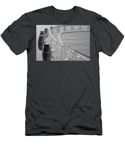 London_eye_ii Men's T-Shirt (Athletic Fit)
