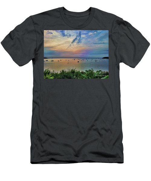 Long Island Sound From Glen Cove Men's T-Shirt (Athletic Fit)