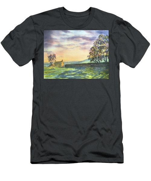 Long Shadows At Sunset Men's T-Shirt (Athletic Fit)