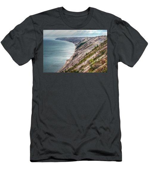 Long Slide Overlook Men's T-Shirt (Athletic Fit)