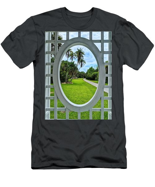 Look Here Men's T-Shirt (Athletic Fit)