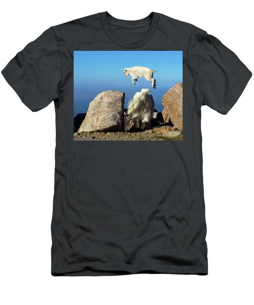 Look Ma, I'm Flying Men's T-Shirt (Athletic Fit)