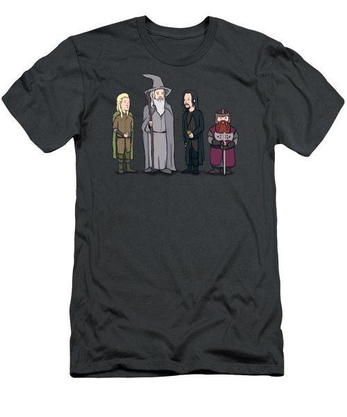 Lord Of The Hill Men's T-Shirt (Athletic Fit)