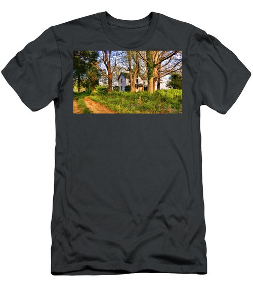 Lost And Abandoned  Men's T-Shirt (Athletic Fit)