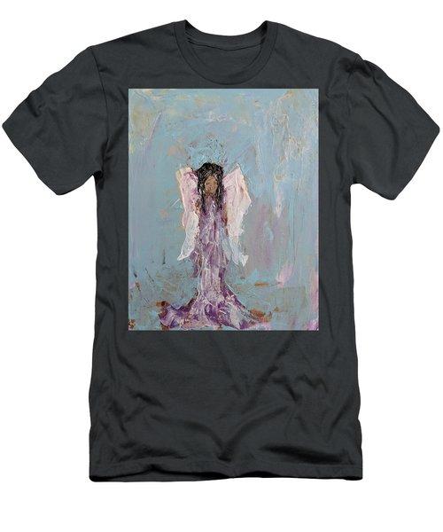 Lovely Angel  Men's T-Shirt (Athletic Fit)
