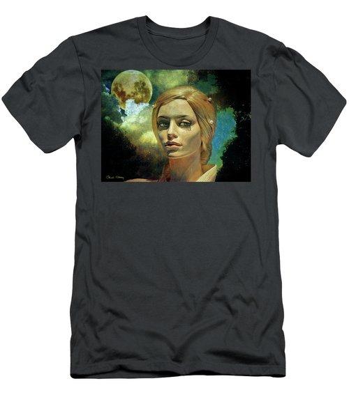 Luna In The Garden Of Evil Men's T-Shirt (Athletic Fit)