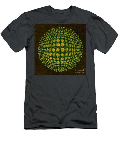 M U M - Bulge Dots On Black Men's T-Shirt (Athletic Fit)