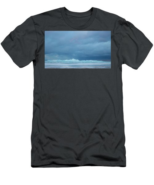 Mackinaw City Ice Formations 21618012 Men's T-Shirt (Athletic Fit)