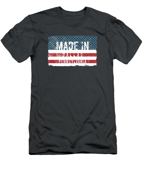Made In Dallas, Pennsylvania Men's T-Shirt (Athletic Fit)