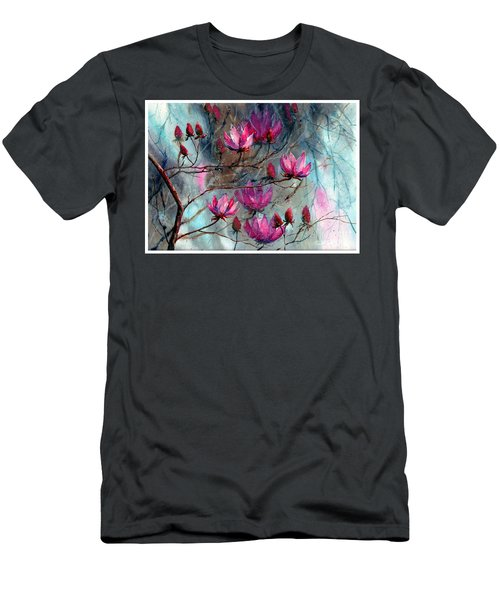 Magnolia At Midnight Men's T-Shirt (Athletic Fit)