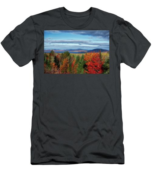 Maine Fall Foliage Men's T-Shirt (Athletic Fit)