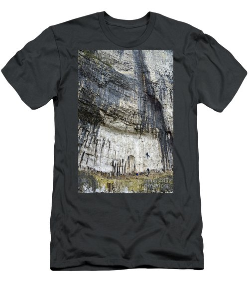 Malham Cove Climbers Men's T-Shirt (Athletic Fit)
