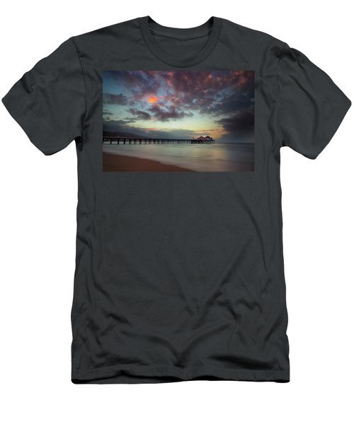 Malibu Pier IIi Men's T-Shirt (Athletic Fit)