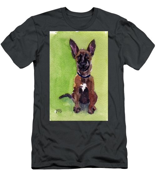 Malinois Pup 2 Men's T-Shirt (Athletic Fit)