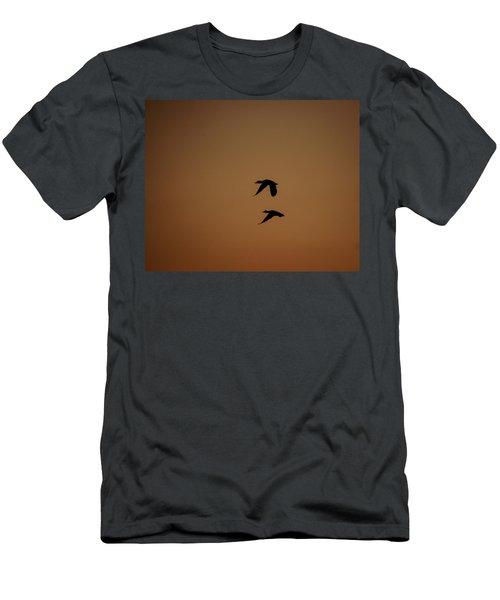 Mallard Morning Men's T-Shirt (Athletic Fit)