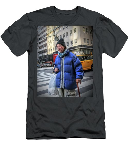Man Vs. City Men's T-Shirt (Athletic Fit)