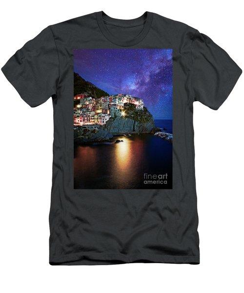 Manarola By Stars Men's T-Shirt (Athletic Fit)