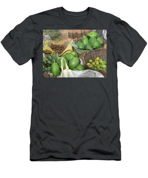 Mangos, Turmeric And Green Bananas  Men's T-Shirt (Athletic Fit)