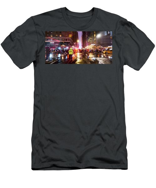 Manhattan Nye Men's T-Shirt (Athletic Fit)