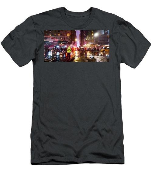 Manhattan Nye Men's T-Shirt (Athletic Fit)