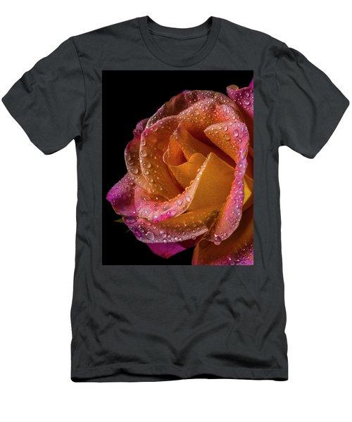 Mardi Gras Sprinkled Beauty Men's T-Shirt (Athletic Fit)