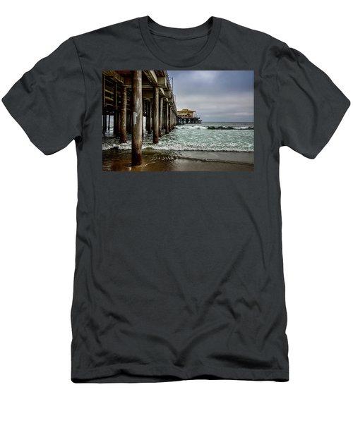 Mariasol On The Pier 2 Men's T-Shirt (Athletic Fit)