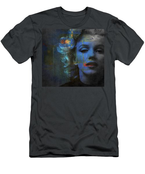 Marilyn Monroe - Retro  Men's T-Shirt (Athletic Fit)