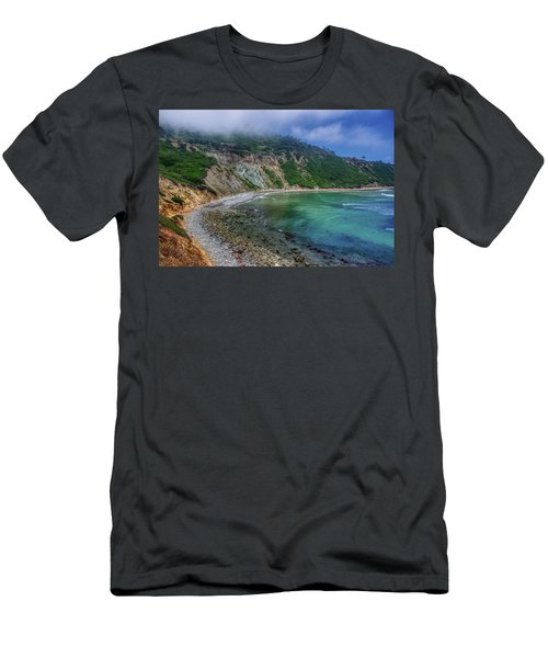 Marine Layer Over Bluff Cove Men's T-Shirt (Athletic Fit)