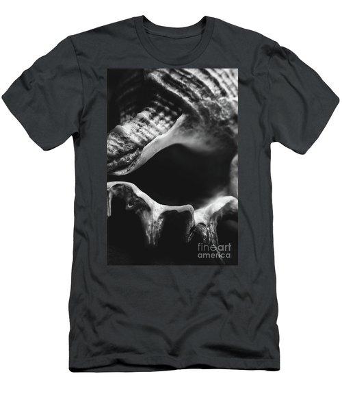 Marine Minimalism  Men's T-Shirt (Athletic Fit)