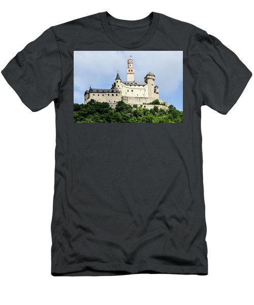 Marksburg Castle Men's T-Shirt (Athletic Fit)