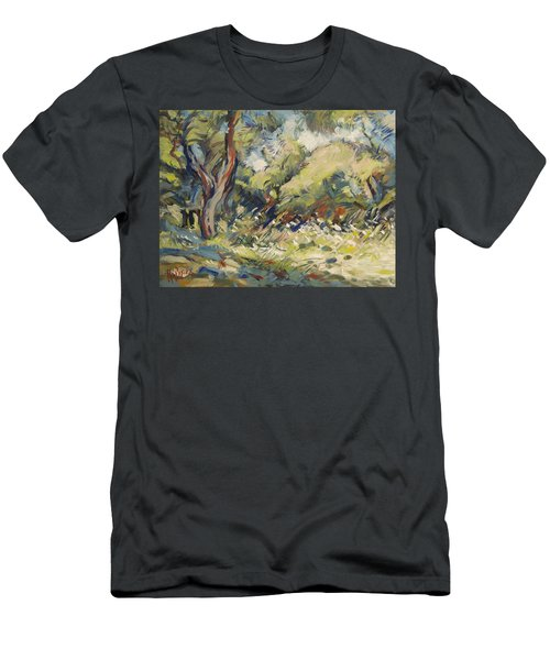 Marmari Olive Orchard Paxos Men's T-Shirt (Athletic Fit)
