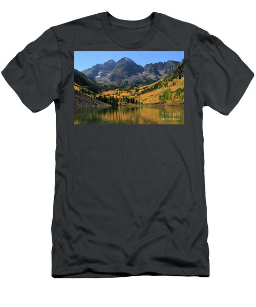 Maroon Bells In Fall Men's T-Shirt (Athletic Fit)