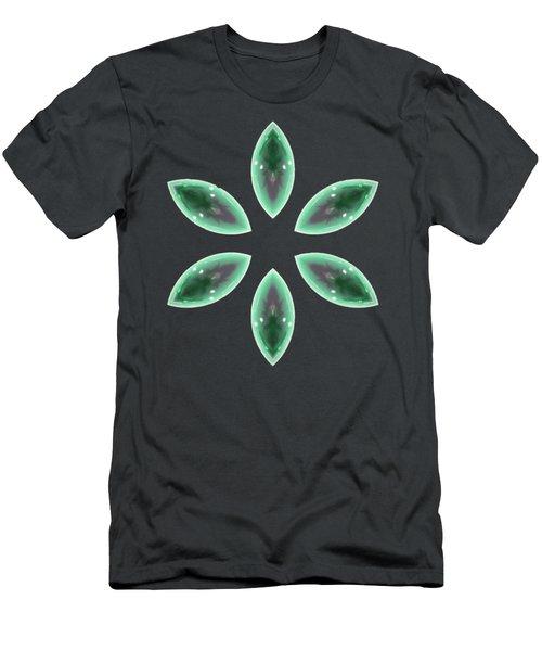 Marquise Floral 2 Men's T-Shirt (Athletic Fit)