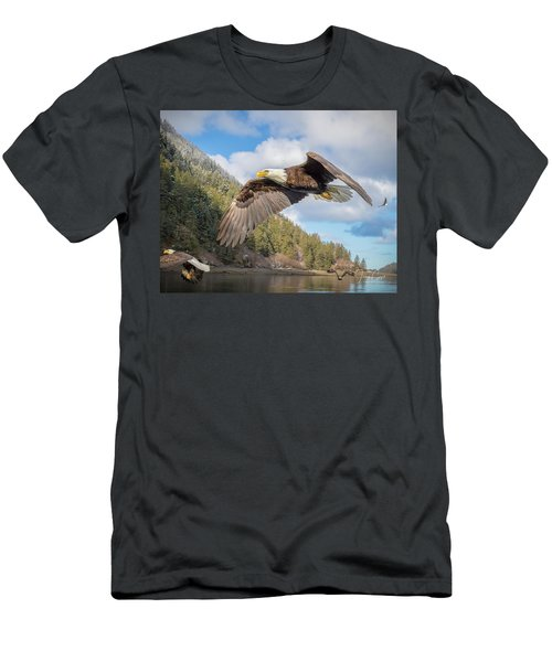 Master Of The Skies Men's T-Shirt (Athletic Fit)