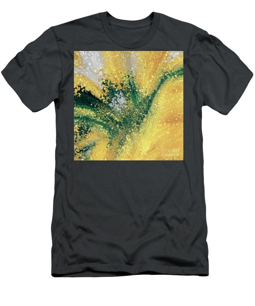 Men's T-Shirt (Athletic Fit) featuring the painting Matthew 5 16. Let Your Light Shine by Mark Lawrence