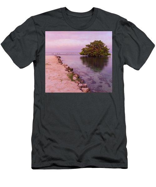 Mayan Sea Reflection 2 Men's T-Shirt (Athletic Fit)