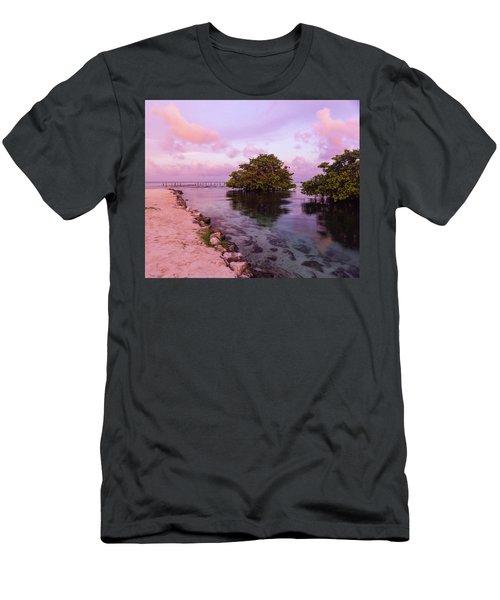 Mayan Sea Reflection Men's T-Shirt (Athletic Fit)