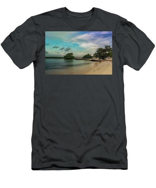 Mayan Shore 2 Men's T-Shirt (Athletic Fit)