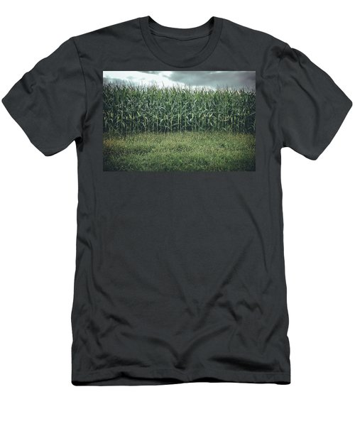 Maze Field Men's T-Shirt (Athletic Fit)