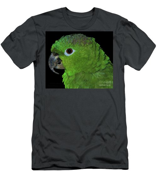 Men's T-Shirt (Athletic Fit) featuring the photograph Mealy Amazon by Debbie Stahre