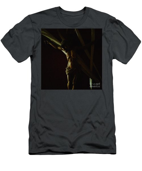 Measuring Up To Jesus Men's T-Shirt (Athletic Fit)