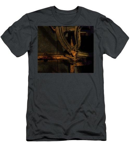 Men's T-Shirt (Athletic Fit) featuring the photograph Mechanism by Juan Contreras