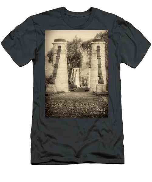 Medieval Bridge Men's T-Shirt (Athletic Fit)