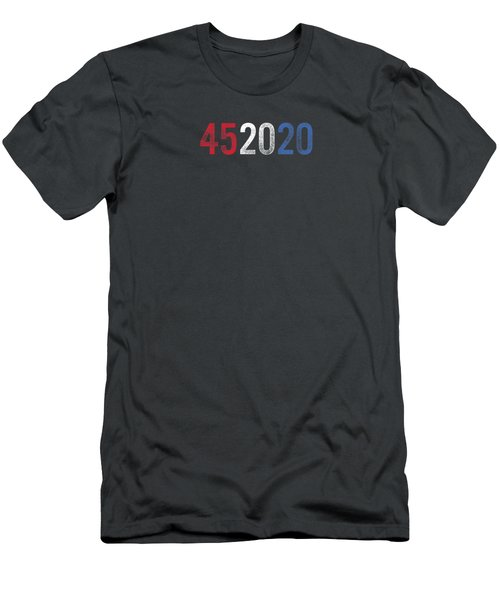 Mens 45 In 2020 Trump 2nd Term 452020 Re-election 4th Of July  Premium T-shirt Men's T-Shirt (Athletic Fit)