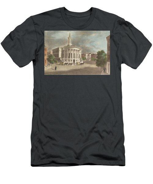 Merchants Exchange, 1838 Men's T-Shirt (Athletic Fit)
