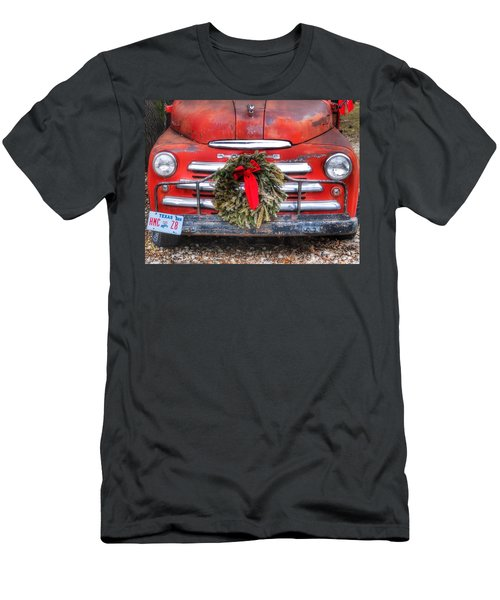 Merry Christmas Texas Men's T-Shirt (Athletic Fit)