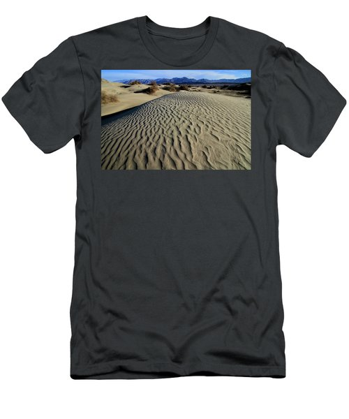 Mesquite Flat Sand Dunes Grapevine Mountains Men's T-Shirt (Athletic Fit)