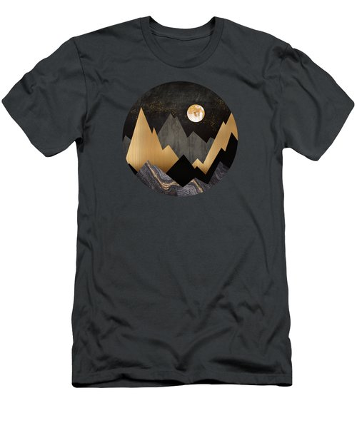 Metallic Night Men's T-Shirt (Athletic Fit)
